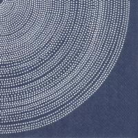 Servietten 33x33 cm - FOKUS dark blue