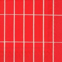 Servietten 33x33 cm - TIILISKIVI red