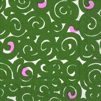 Servietten 33x33 cm - SONAATTI green