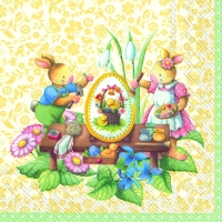 Lunch Servietten EASTER SPRING FANTASY
