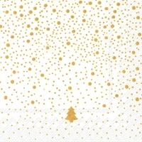 Servietten 33x33 cm - SILENCE Weißgold