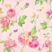 Lunch Servietten NEW RAMBLING ROSE rose