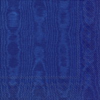 Servietten 33x33 cm - MOIREE blue