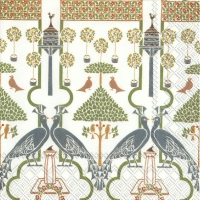 Lunch Servietten VOYSEY (V&A) white