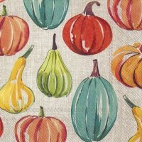 Servietten 33x33 cm - PUMPKIN TIME