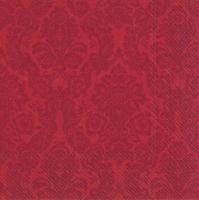 Servietten 33x33 cm - PALAIS red