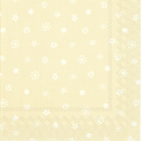 Servietten 33x33 cm - LITTLE JOY cream