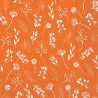 Servietten 33x33 cm - TILDA orange