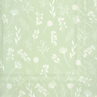 Servietten 33x33 cm - TILDA light green