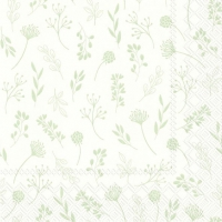 Servietten 33x33 cm - TILDA white green