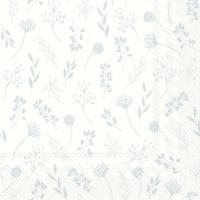Servietten 33x33 cm - TILDA weiß blau
