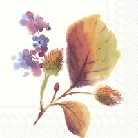 Servietten 33x33 cm - MAGIC OF AUTUMN cream
