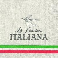 Servietten 33x33 cm - DIE ITALIENISCHE CUCINA
