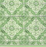 Servietten 33x33 cm - LORENZO green