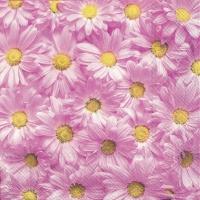 Servietten 33x33 cm - SPRING FOREVER pink