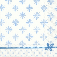 Servietten 33x33 cm - DARCY light blue