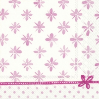 Servietten 33x33 cm - DARCY light rose