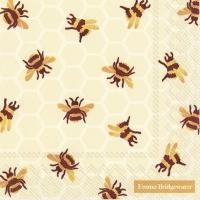 Servietten 33x33 cm - BUMBLE BEE