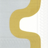 Servietten 33x33 cm - SEIREENI gold