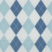 Servietten 33x33 cm - CLASSICAL blue