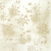 Servietten 33x33 cm - CRYSTALS cream