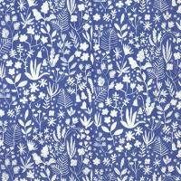 Servietten 33x33 cm - SUMMER ANNI blue