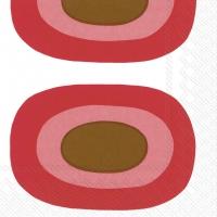 Servietten 33x33 cm - MELOONI red