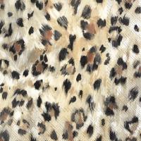 Servietten 33x33 cm - LEONARD light brown