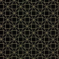 Servietten 33x33 cm - SQUARE PATTERN black