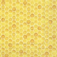 Servietten 33x33 cm - BEE INSPIRED yellow