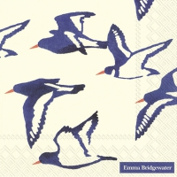 Servietten 33x33 cm - OYSTER CATCHERS cream