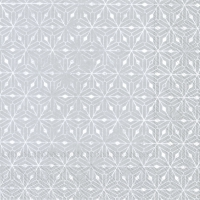 Servietten 33x33 cm - CRYSTAL ORNAMENTS silver