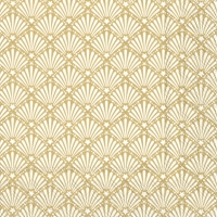 Servietten 33x33 cm - ROCAILLE white gold