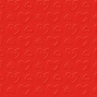 Servietten 33x33 cm - CARINO UNI red