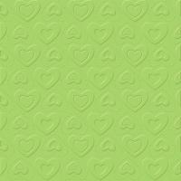 Servietten 33x33 cm - CARINO UNI opal green