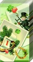 Taschentücher - CHIMNEY SWEEP grün