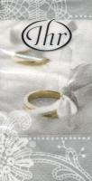 Taschentücher - ROMANTIC MOMENTS Silber
