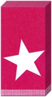 Taschentücher PURE STAR dark red