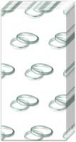 Taschentücher - Ringe Silber