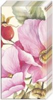 Taschentücher - Wilde Rose