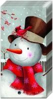 Taschentücher SMILING SNOWMAN