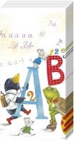 Taschentücher ABC IN SCHOOL