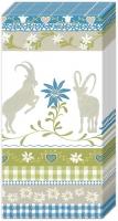 Taschentücher MOUNTAIN CHARM blue
