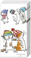 Taschentücher CATS WITH HATS