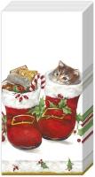 Taschentücher SWEET CHRISTMAS BOOTS