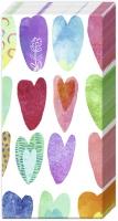 Taschentücher - RAINBOW HEARTS