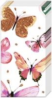 Taschentücher - NATHALIE pink