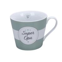 Porzellan-Tasse -  Super Opa