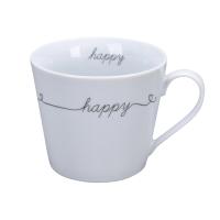 Porzellan-Tasse -  Happy on line