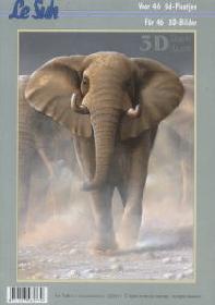 3D Bogen Buch Tiere - Format A4